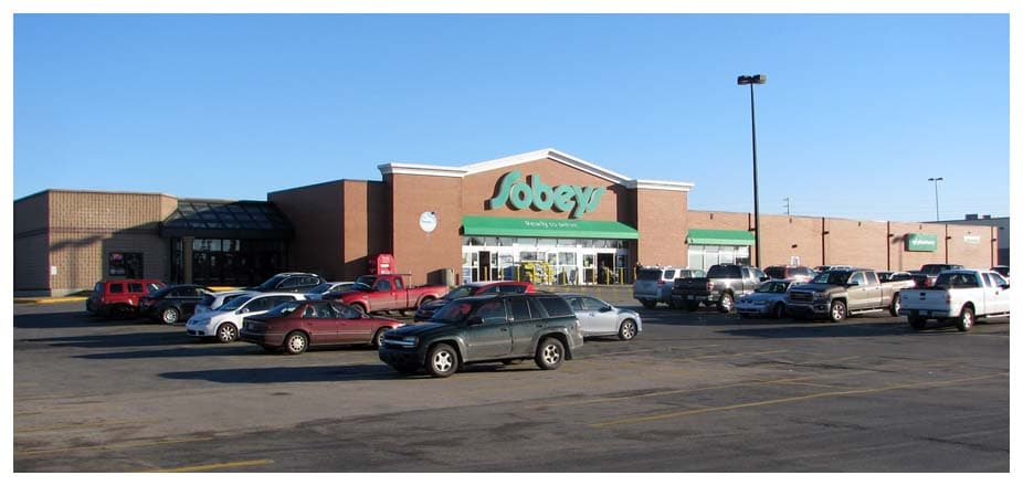 Yarmouth Mall - Sobeys section